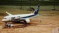 ALL NIPPON BOEING 787-800 DREAMLINER JA805A AT TOKYO HANEDA AIRPORT JAPAN JUNE 2012 (7489567778).jpg