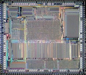 Am386 - Die of AMD Am386DX.