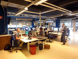 Algemeen Nederlands Persbureau - ANP former headquarters in Rijswijk.
