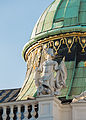 AT-13765 Michaelertrakt - Fassade und Kuppel - hu - 6545.jpg