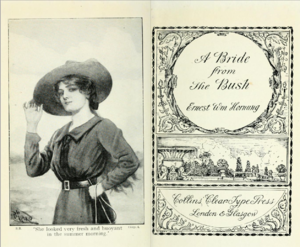 A Bride from the Bush - Title page
