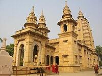 A Buddhist temple at Sarnath