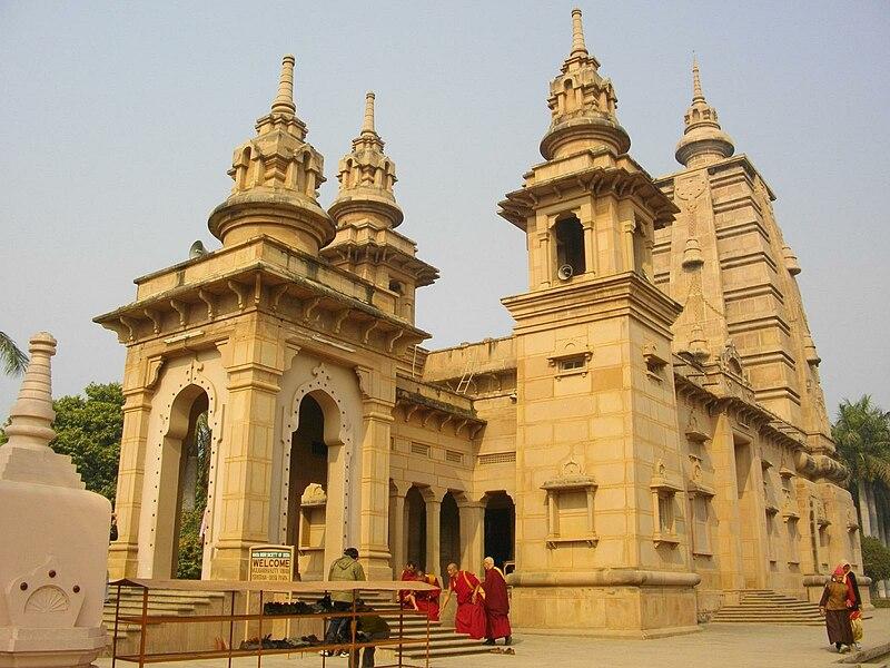 Buddhist temple at Sarnath