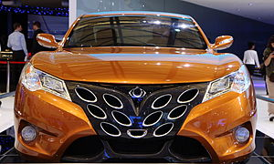 Geely Gleagle GS (coupe version) concept car, ...