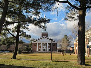 Gordon College (Massachusetts) - A. J. Gordon Memorial Chapel in Wenham, Massachusetts