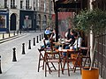 A cafe near the medical school, Paris 14 April 2010.jpg