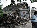 A damaged house in Ju Yuan town - panoramio.jpg
