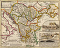 A general map of Turkey in Europe, Hungary, 1736.jpg