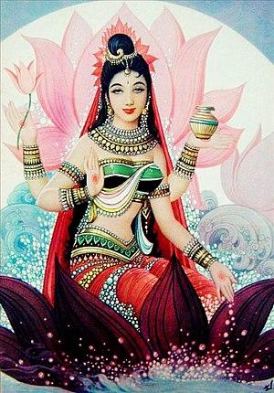Svargarohana Parva - Yudhishthira finds Draupadi in heaven, discovers that she is an avatar of shakti who was born as princess of Panchala.