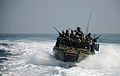 A riverine command boat transits the Arabian Gulf. (12177711715).jpg