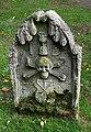 A symbolic gravestone in Humbie Churchyard - geograph.org.uk - 1014232.jpg