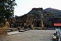 A view from bottom of Takht-i-Bahi Buddhist ruins.jpg