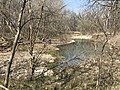 A view from the creek bank at Rock Creek Crossing in Council Grove, KS - 2 (4df6a008b4d64116818e88fb5312f046).JPG