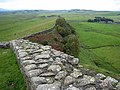 A well-preserved section of Hadrian's Wall - geograph.org.uk - 999463.jpg