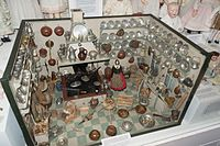 A well-stocked antique dollhouse kitchen (26979932026).jpg