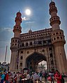 A worm's eye view of the Charminar.jpg