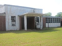 Abandoned school near Derry in Natchitoches Parish