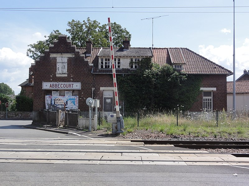 Abbécourt (Aisne) ancienne gare