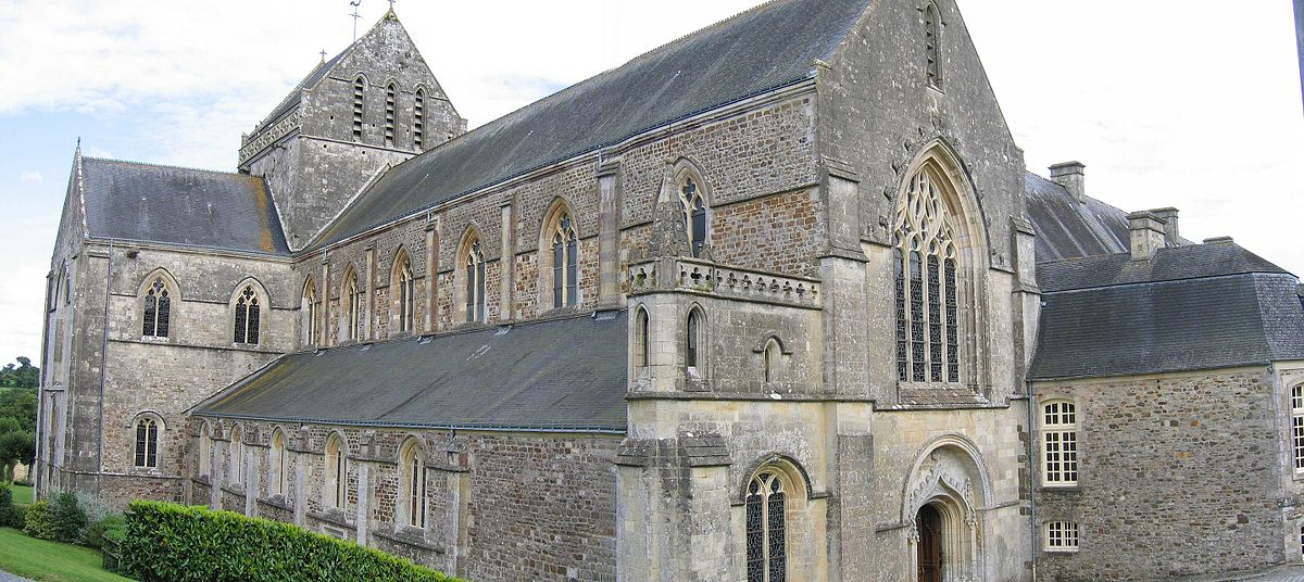 Abbey of saint sauveur le vicomte wikipedia - Piscine saint sauveur le vicomte ...