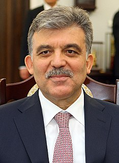 Abdullah Gül 11th President of Turkey