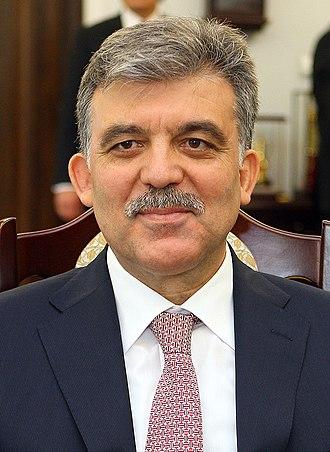 President of Turkey - Image: Abdullah Gül Senate of Poland (cropped)