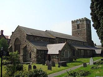 Aberconwy Abbey - The former abbey church, now the parish church for Conwy