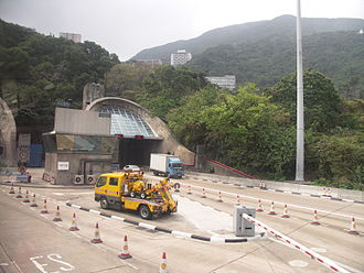 Aberdeen Tunnel - Aberdeen Tunnel, Happy Valley entrance