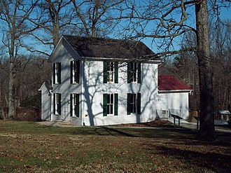 National Register of Historic Places listings in Prince George's County, Maryland - Image: Abraham Hall Dec 08