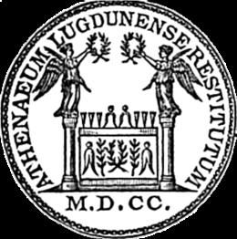 Académie des sciences, belles-lettres et arts de Lyon seal.png