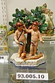 Adam and Eve, Staffordshire, England, 1820-1840, pearlware, overglaze enamels, HD 93.005.10 - Flynt Center of Early New England Life - Deerfield, Massachusetts - DSC04615.jpg