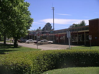Adaminaby Town in New South Wales, Australia