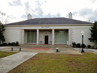 Alexander City, Alabama - Image: Adelia M. Russell Library Alexander City, Alabama