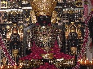 Ratlam - Idol of Adinath at Bibrod Tirth