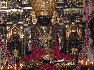 Ratlam - Idol of Adinath at Bibrod Tirth