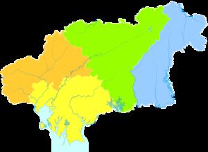 Qinzhou - Image: Administrative Division Qinzhou