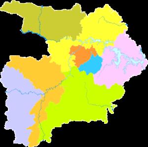 Shiyan - Image: Administrative Division Shiyan