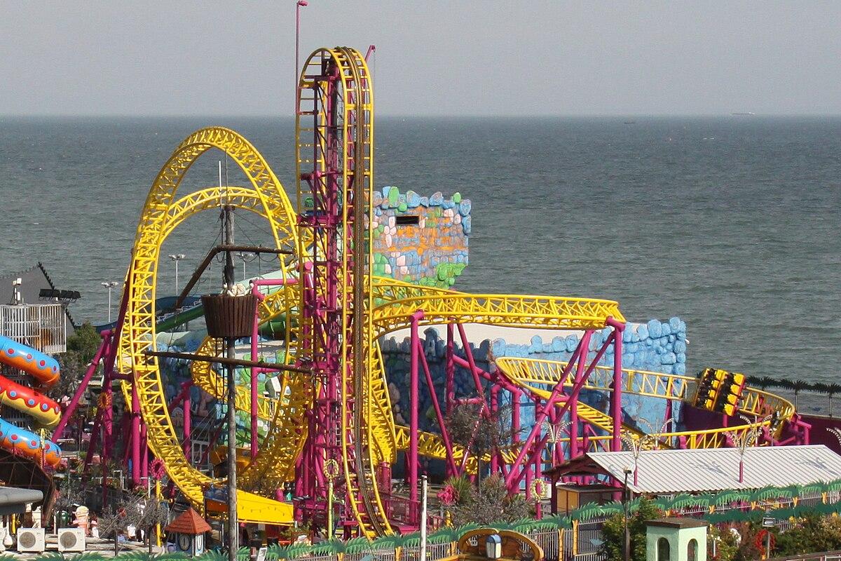 Rage (roller coaster) - Wikipedia