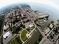 Aerial picture of Port Credit in Mississauga.JPG