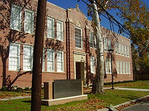 Fourth Ward, Houston - The former Edgar M. Gregory School, now the African American Library at the Gregory School
