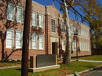 History of African Americans in Houston - African American Library at the Gregory School, located in the Fourth Ward in Houston