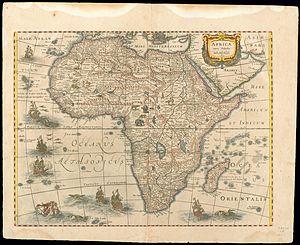 Henricus Hondius II - Image: Africa 1631, Hendrik Hondius (3824997 recto)