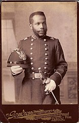 African American in Uniform cabinet card, c1890s.jpg