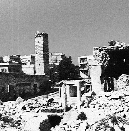 Section of Hama after attack by government forces After Hama Massacre.jpg