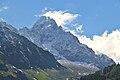 Aiguille du Chardonnet from Argentière 4.JPG