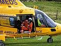 Air ambulance landing below Windgather Rocks - geograph.org.uk - 1017014.jpg