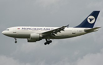 MIAT Mongolian Airlines - A former MIAT Airbus A310-300