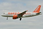 Airbus A319-100 Easyjet (EZY) G-EZBE - MSN 2884 (9741133904).jpg