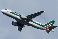 EI-DTJ - A320 - Alitalia