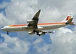Airbus A340-313, Iberia JP6377334.jpg