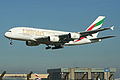 Airbus A380-861 A6-EDT Emirates (6908526950).jpg